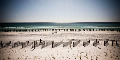 Hands Across the Sand – Not the Answer NC