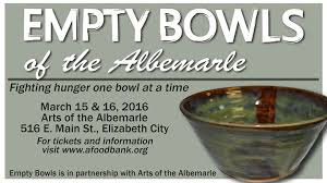 3nd Annual Empty Bowls of the Albemarle