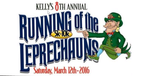 Kelly's Running of the Leprechaun March 12