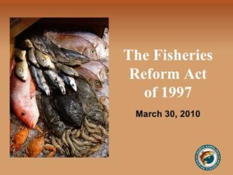 NC fisheries reform act: an oral history