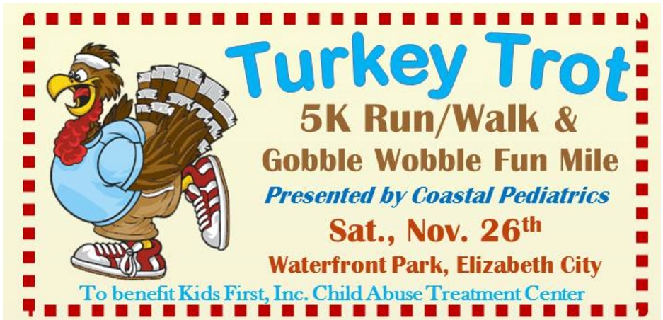 Annual Turkey Trot  November 26