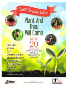 Dare County Master Gardeners Festival  May 20