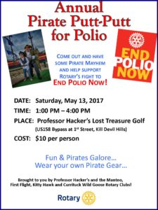 Putt Putt for Polio  May 13