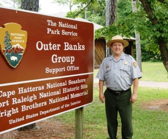 Outer Banks Group Historian/Cultural Resources Manager  Doug Stover Retires