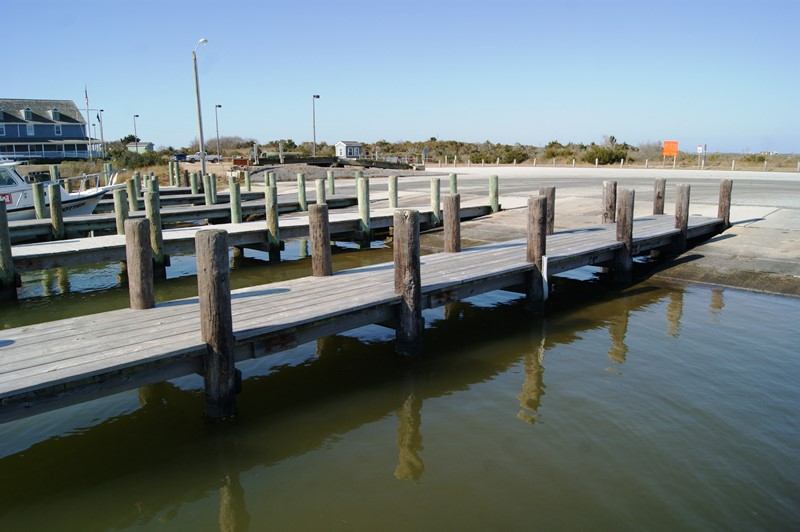 Nps improvements to oregon inlet boat ramps on bodie for Oregon inlet fishing center
