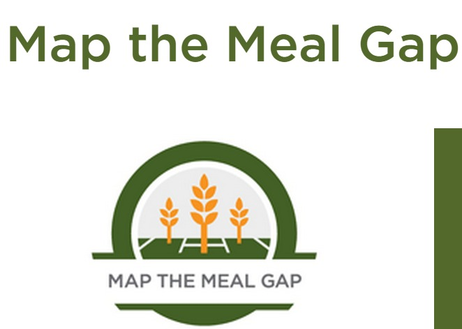 Map The Meal Gap Feeding America Outer Banks Commongood