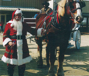 Breakfast with Santa and Horse December 19