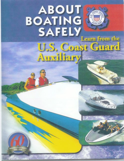 Boating Safety Course Being Offered by US Coast Guard Auxiliary