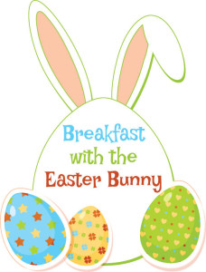 Breakfast with the Easter Bunny March 19