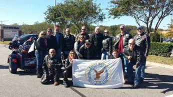 Group Ride to The Eagles Club Poker Run Benefits Food Pantry June 3