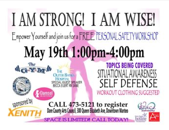 Women's Empowerment Workshop! May 19