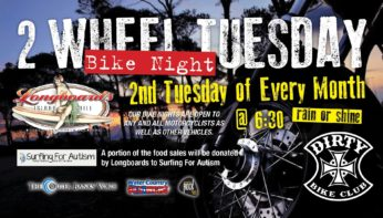2WheelTuesday Bike Night and Longboards  August 8