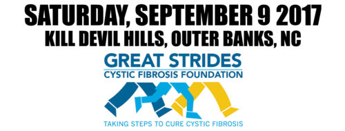 Outer Banks Great Strides for Cystic Fibrosis 2017 September 9