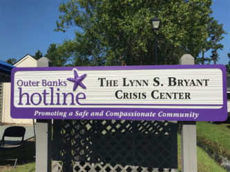 The Hotline office building is named The Lynn Bryant Crisis Center