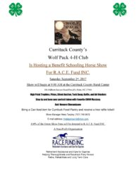 Currituck County's Wolf Pack 4-H Horse Show September 2