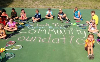 Love to Serve Program by Outer Banks Tennis Association