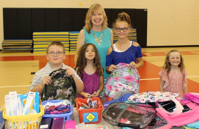 Chamber Staff Deliver School Supplies to Hatteras and Ocracoke
