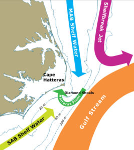 Outer Banks Currents being studied by University of  Georgia
