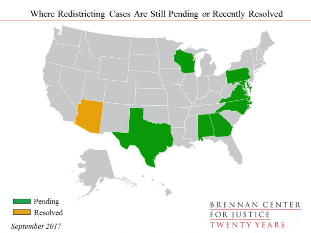 The State of Redistricting Litigation North Carolina