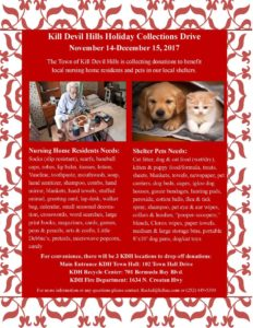 Kill Devil Hills Holiday Collection Drive