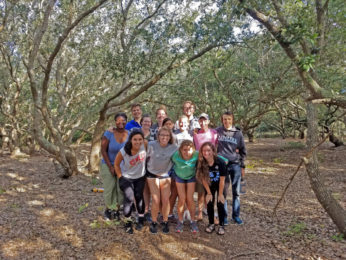 Outer Banks Field Site Students Present Capstone Research Project On December 14, 2017