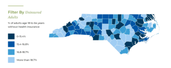 Check out North Carolina Institute of Medicine new North Carolina Interactive Health Data Map!