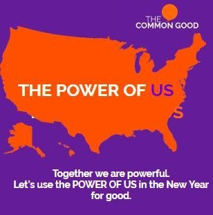 Happy New Year 2018, Common Good Resolutions