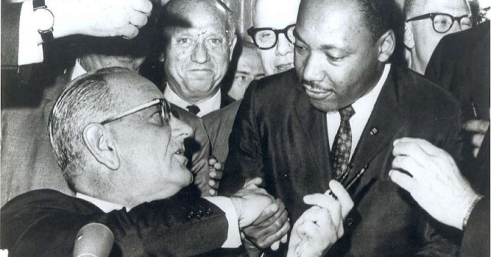 """Martin Luther King Jr asked """"Chaos or Community?"""""""