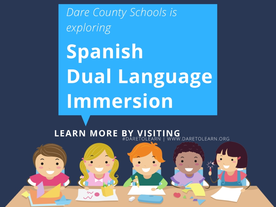 Dare County Schools Explore Spanish Dual Language Classrooms for 2018-19!