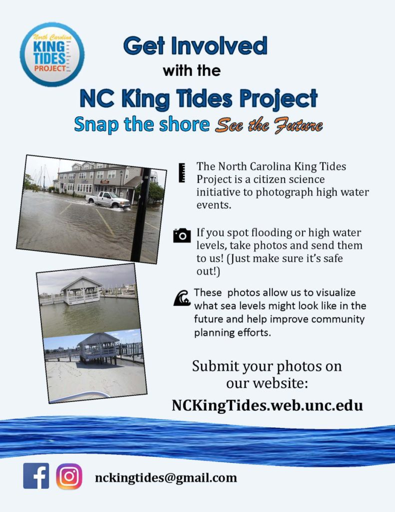 King Tides Project Needs High Water Photos Outer Banks Commongood
