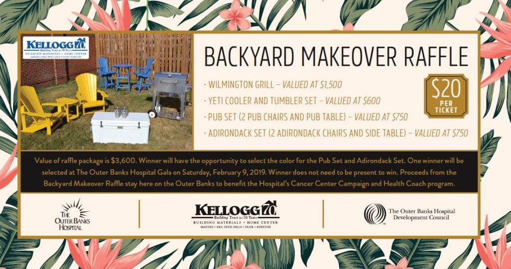 Tickets Available Now for Hospital's Backyard Makeover Raffle - Tickets Available Now For Hospital's Backyard Makeover Raffle