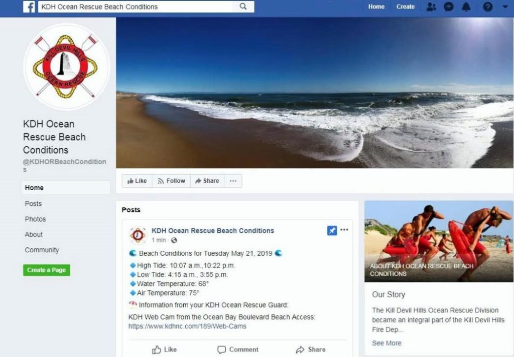 Kill Devil Hills Launches a New Facebook Page: - Outer Banks
